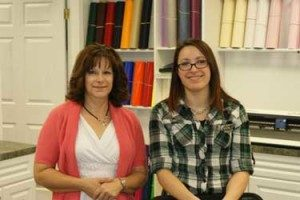 Kathy and Janelle at Masterpiece Monogramming