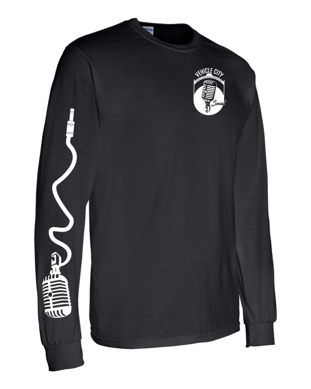 Vehicle City Social Long Sleeve T-Shirt